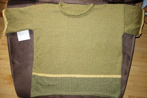 Seta Tweed is the yellow; the other 2 colors are Silky Wool.