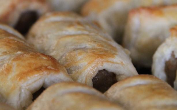 Sausage Rolls Closeup