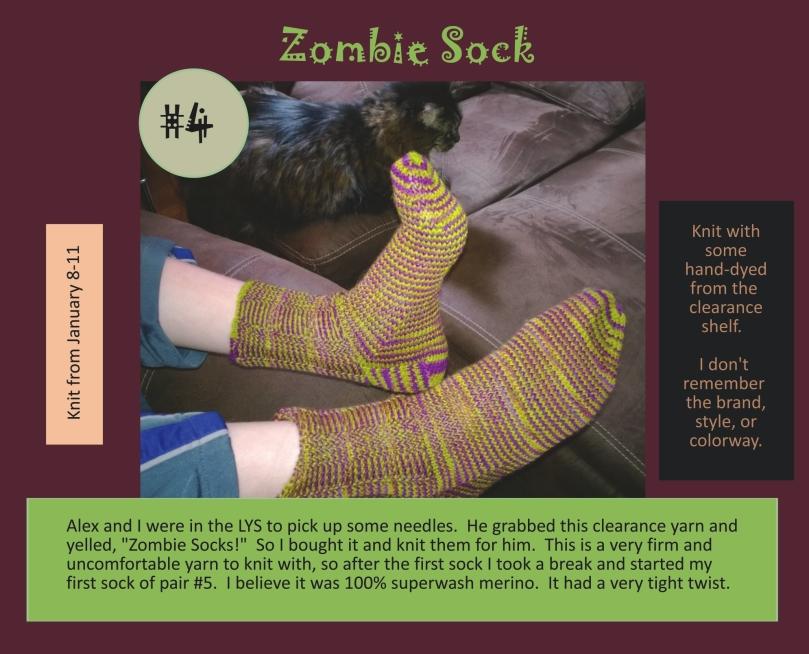 zombie sock