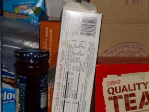 Stuff in the pantry, taken with flash and the S02.