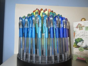 Pens taken with the Elph 340.