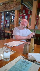 Chris at Deschutes.  This was before he had any beer!
