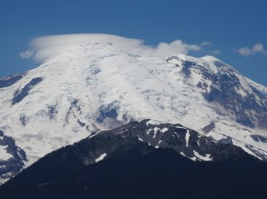 Mount Rainier at 30x zoom (this is the full optical zoom on this camera).