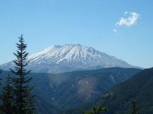 Mount St. Helens at 30x zoom.