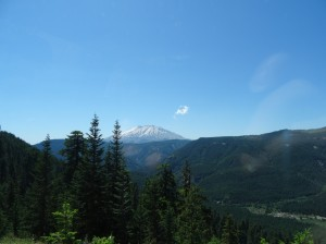 Mount St. Helens, no zoom.