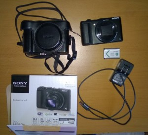 My Sony Cybershot HX50V.  This one's for sale.