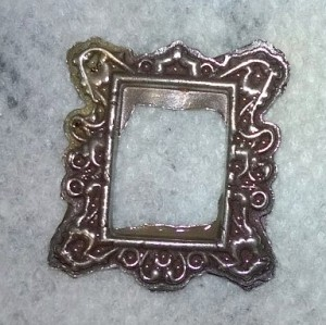 Frame made using a ModPodge mold.
